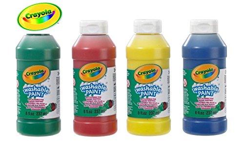 Delightful Crayola Washable Ready Mix Paint -- by Crayola