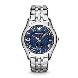 Emporio Armani Classic Analogue Blue Dial Men's Watch - AR1789