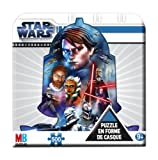 MB Puzzle Hasbro 1010 - Puzzle Enfant - Boîte Métal Star Wars - 500 Pièces -...