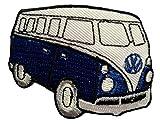 Dunkel Blau VW Beetle Bus Retro Bus Hippie Patch ''