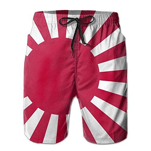 Beach Shorts Flag of Japan Men's Fashion Board Shorts Men's Sleep Quick Dry Swim Trunks Beach Shorts Large