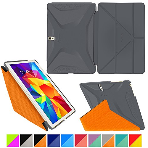 roocase-samsung-galaxy-tab-s-105-case-origami-3d-space-gray-roocase-orange-slim-shell-105-inch-105-s