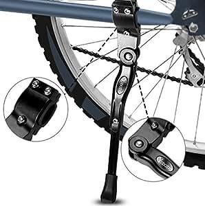 fahrradst nder yododo faltbarer fahrrad seitenst nder einstellbarer universal fahrrad st nder. Black Bedroom Furniture Sets. Home Design Ideas