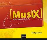 MusiX 2. Testgenerator (CD-ROM und Audio-CD): Das Kursbuch Musik 2. Klasse 7/8 Bild