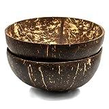 Cocovibes Kokosnuss Schale | Buddha Bowl | Deko Schüssel | 1er, 2er und 4er-Sets | 100% Natürlich (poliert) Handgemacht und Umweltfreundlich