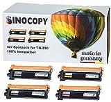 4x SinoCopy XXL Toner kompatibel für Brother TN-230 HL-3040N HL-3040CN HL-3070CN HL-3070CW MFC-9120CN MFC-9320CW DCP-9010CN