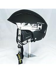 Skihelm Cratoni Slash-TS black-silver matt