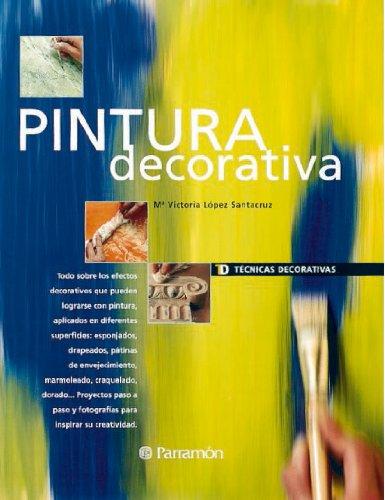 Pintura decorativa (Técnicas decorativas) por Mª Victoria Lopez Santacruz