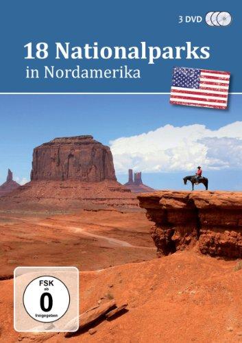 18 Nationalparks in Nordamerika [3 DVDs]
