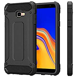 VA For Samsung Galaxy J4 Plus Phone Case ShockProof Dual Layer Armor Rugged Hybrid Protective Back Cover For Galaxy J4+ / J4Plus