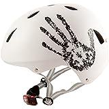Sport DirectTM Bike BMX/Skateboard-Zyklus Fahrradhelm weiß 57-59 cm