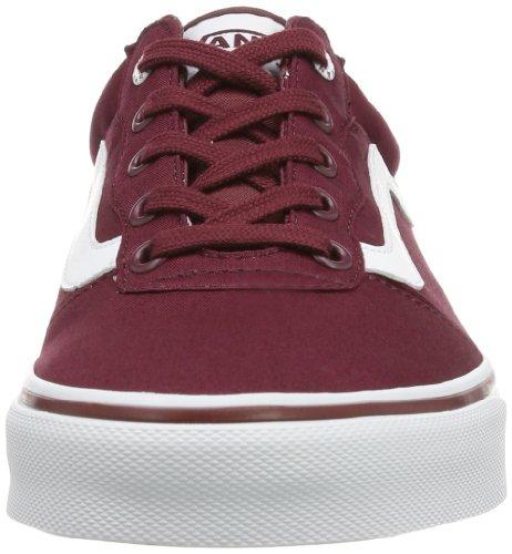 Vans M MILTON VOYYC70 Herren Sneaker Rot ((Twill) burgund)