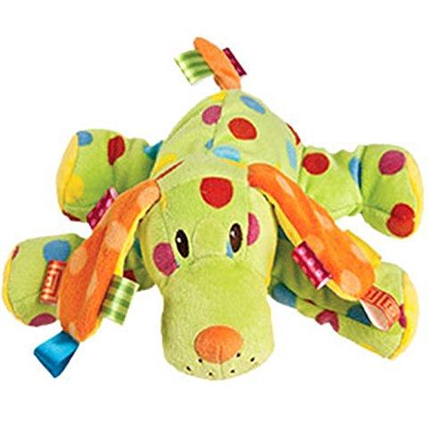 Taggies Colours Spotty Dog Animal Boy / Girls Plush Comforter Soft Toy