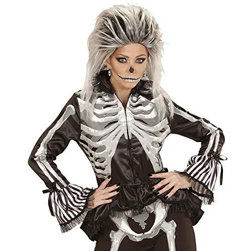 Widmann 49021 - Erwachsenenkostüm Lady Skelett, Jacke, Größe S