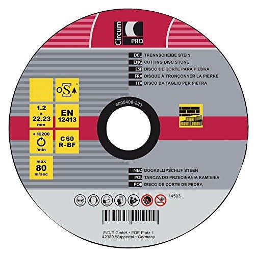 CircumPRO 4333097025394 Trennscheibe 115x1,2mm für Stein