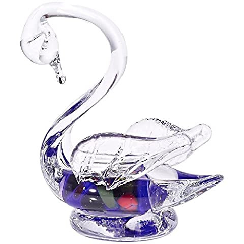 Glass Statue, Swan figurine, Collection