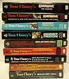 Tom Clancy's Splinter Cell , Ghost Recon, Endwar Series 9 Book Set