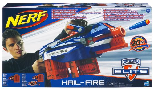 Hasbro 98952148 - Nerf N-Strike Elite Hail-Fire