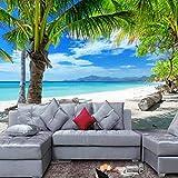 Carta da parati moderna Hawaii Mare Vista Spiaggia Paesaggio Foto Carta da parati Carta da parati Soggiorno Carta Da Parati Fotomurali moderna cucina colla camera da letto-200cm×140cm