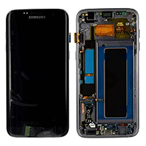 Ecran LCD Tactile Origine Samsung Galaxy S7 Edge Noir SM-G935F: Amazon.fr: High-tech