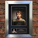 The Gift Room #397 Autographe Photo signé James Blunt A4