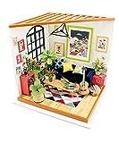 Robotime Dollhouse Salon de Maison Miniature pour Adultes - Cadeau de Noël