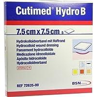 CUTIMED Hydro B Hydrok.Ver.7,5x7,5 cm m.Haftr. 5 St Kompressen preisvergleich bei billige-tabletten.eu