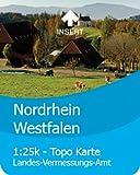 Satmap GPS System Karte 1:25000 & 1:50000 Deutschland: Nordrhein-Westfalen