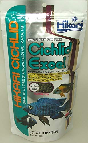 Hikari Tropical Cichlid Excel Medium Pellets 250 g -