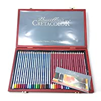 Essentials Clear View Large Kassette mit Sketch Art Set Royal /& Langnickel RSET-ART3205