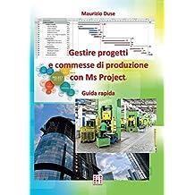 Gestire progetti e commesse di produzione con Ms Project