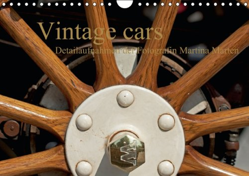 Vintage cars (Wandkalender 2014 DIN A4 quer): Detailaufnahmen der Fotografin Martina Marten (Monatskalender, 14 Seiten) -