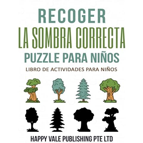 Recoger La Sombra Correcta Para Niños: Libro De Actividades Para Niños