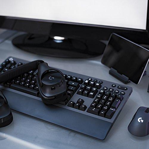 Logitech G533 Gaming Headset -  Auriculares Gaming (Sonido Envolvente,  DTS 7.1,  inalámbricos)