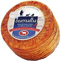 Queso Cabra Curado Pimenton (1 kg) - Buenalba