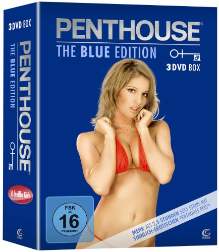 PENTHOUSE The Blue Edition - Gina and Friends, Renee and Friends, Jamie Lynn (3 DVD-Box)