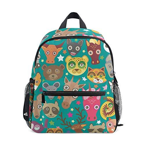 Head Kleinkind Rucksack Büchertasche Schulrucksack für Mädchen Jungen Kinder ()