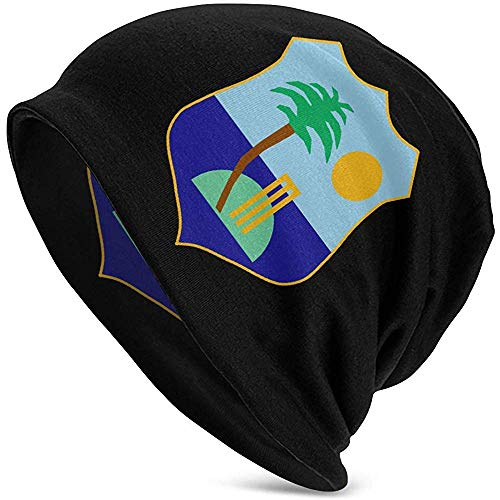Not applicable West Indies Cricket Board Flag Erwachsene Soft Slouchy Beanie Mützen Daily Long Baggy Skull Cap