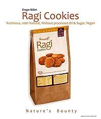 Grainny's Whole-Grain Organic Vegan Ragi Finger-Millet Cookies (360 gms.)