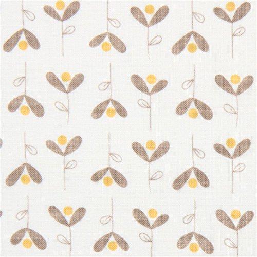 Moda Baumwollgewebe mit Blumen, aus den USA, Kollektion: Corner of 5th and Fun, Design: Sandy Gervais -