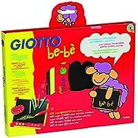 Fila - set pizarra escolar giotto con accesorios: borrador + portatizas + caja de 10 tizas