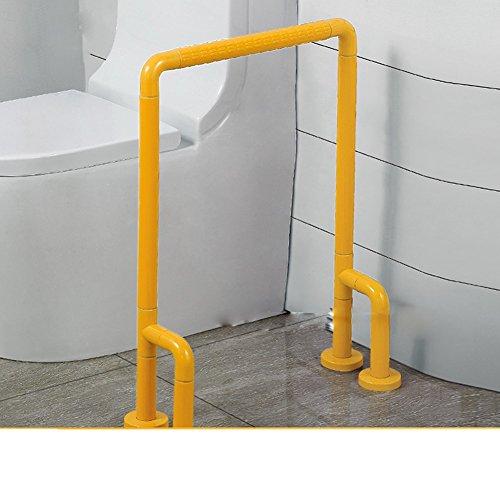 Wc-sicherheits-arm-unterstützung (YFF@ILU Decke einen Handlauf, Nylon mit Sicherheit Handlauf Bein, Toiletten WC Urinal Handlauf, älteren armen Handlauf, gelb)