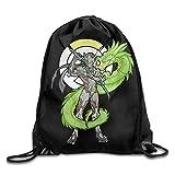 Dhrenvn Overwatch Genji Unisex Shoulder Bags Drawstring Backpack/Rucksack