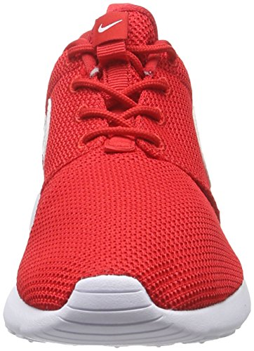 Nike Roshe One (GS), Scarpe da Corsa Bambino Rot (605 UNIVERSITY RED/WHITE)