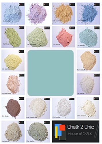 #CP4 - ADRIATICO BLUE - CHALK 2 CHIC 11oz / 312g POWDER CHALK diy PAINT makes up to 2 Litres of...