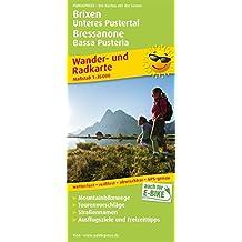 Brixen, Unteres Pustertal / Bressanone, Bassa Pusteria: Wander- und Radkarte mit Ausflugszielen & Freizeittipps, wetterfest, reißfest, abwischbar, GPS-genau. 1:35000 (Wander- und Radkarte / WuRK)