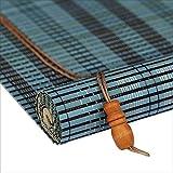 WUFENG Bambus Rollo Abgeschnitten Schattierung Retro Tee Raum Schatten Rollo Haushalt 3 Farben 23 Größen Kann Angepasst Werden Türvorhang (Farbe : A, größe : 90x200cm)