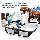 Lorenlli Kohlenstoffarme und umweltfreundliche 3D-IR-aktive Shutter-Brille für DLP-Link-Projektor für BenQ W1070 W700 W710ST