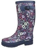 BOCKSTIEGEL® Bottes en caoutchouc de femmes   Tailles 36-42   Styles plusieurs   Bottes de jardin   Bottes de boue   Bottes de pluie   Boucle de décoration