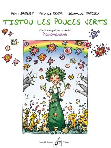 Tistou les Pouces Verts Livret par Sauguet Henri